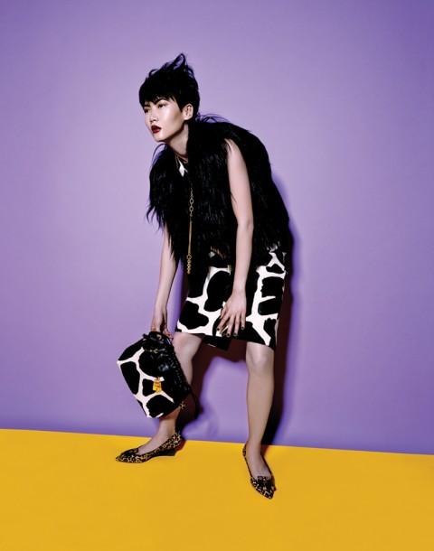 Gwen Lu photographed by Herring & Herring