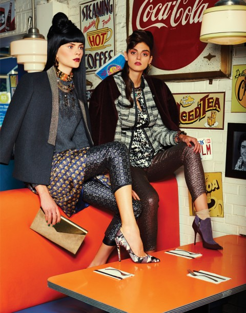 Maria Graef and Alexa Corlett photographed by Herring & Herring