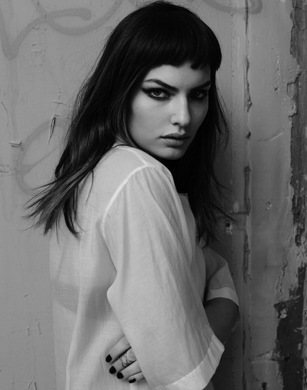 Alyssa Miller photographed by Herring & Herring