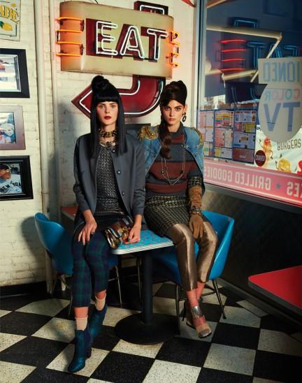 Maria Graef and Alexa Corlett photographed by Herring & Herring