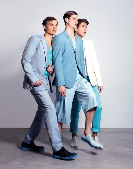 Nate Hill, Theo Hall, Adrien Brunier, and Spencer Draeger photographed by Herring & Herring