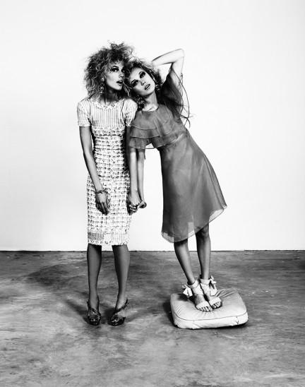 Anastasia and Vita photographed by Herring & Herring