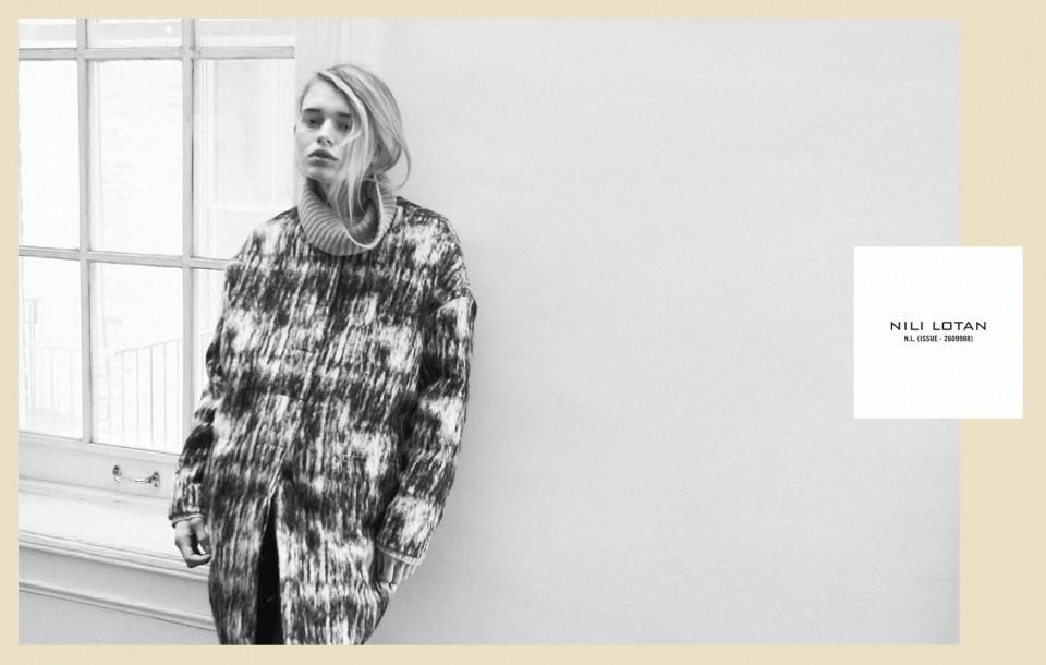 Rosa Van Berckel photographed by Herring & HerringAdvertising for Nili Lotan F/W '11