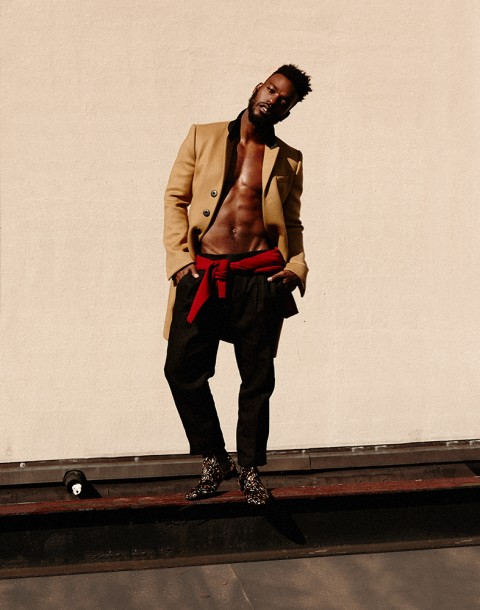 Luke James photographed by Herring & Herring
