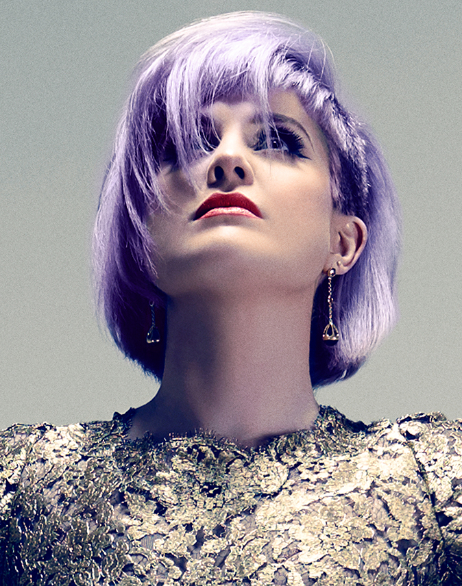 Fashion and Celebrity editorial by Herring & Herring (Dimitri Scheblanov and Jesper Carlsen) starring Kelly Osbourne