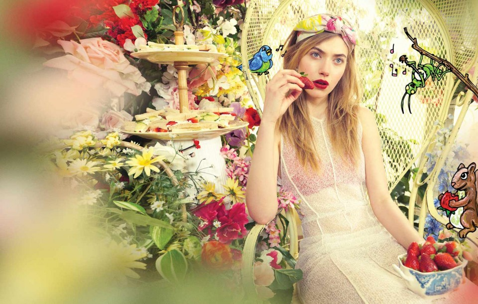 Fashion and Celebrity editorial by Herring & Herring (Dimitri Scheblanov and Jesper Carlsen) starring Imogen Poots