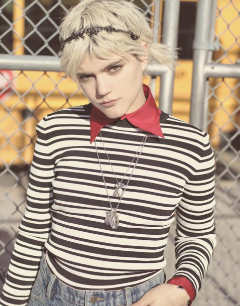 Soko photographed by Herring & Herring for Herring & Herring Object Magazine