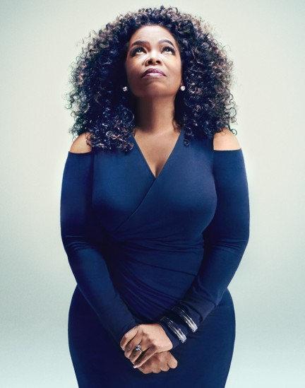 Oprah Winfrey photographed by Herring & Herring for Fast Company magazine