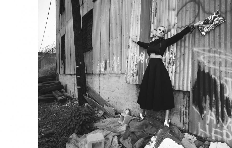 Fashion and Celebrity editorial by Herring & Herring (Dimitri Scheblanov and Jesper Carlsen) starring Pamela Anderson