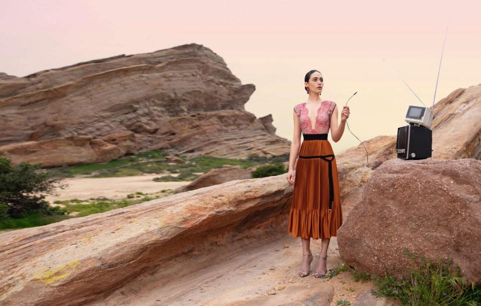 Fashion, Celebrity Editorial by Herring & Herring (Dimitri Scheblanov and Jesper Carlsen) starring Emmy Rossum
