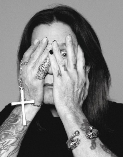 Celebrity editorial by Herring & Herring (Dimitri Scheblanov and Jesper Carlsen) starring Ozzy Osbourne