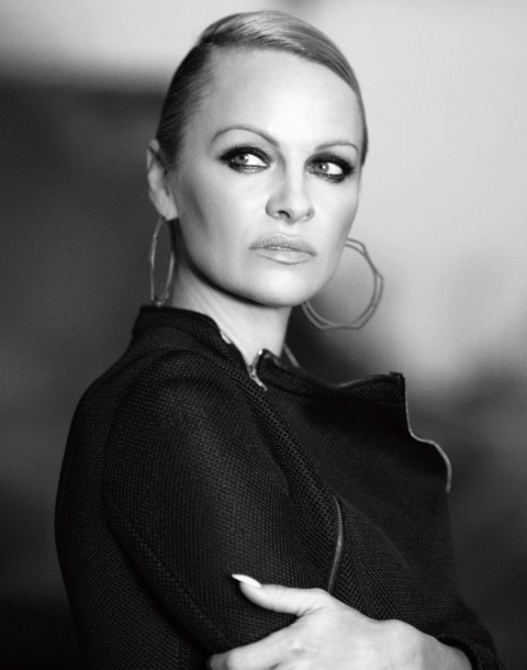 Fashion and Celebrity editorial by Herring & Herring (Dimitri Scheblanov and Jesper Carlsen) starring Pamela Anderson