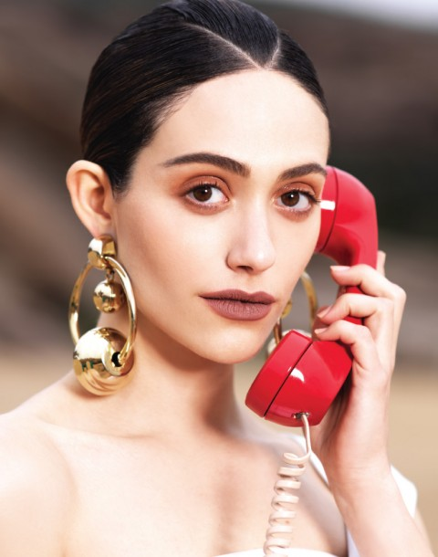 Fashion, Celebrity Editorial by Herring & Herring (Dimitri Scheblanov and Jesper Carlsen) starring Emmy Rossum