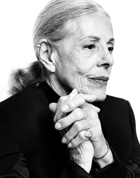 Elinor Klein photographed by Herring & Herring for Eva Fehren Jewelry