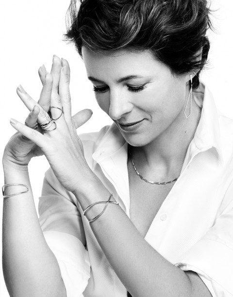 Garance Doré photographed by Herring & Herring for Eva Fehren Jewelry