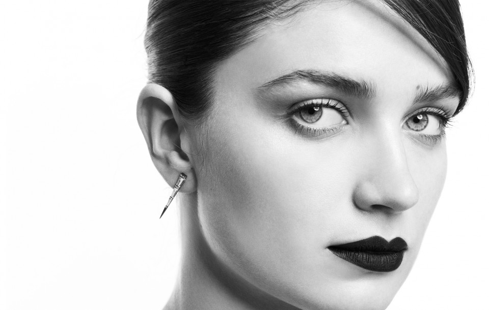 Eve Hewson photographed by Herring & Herring for Eva Fehren Jewelry