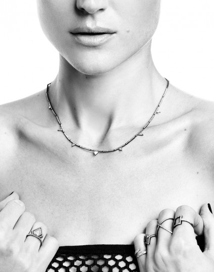 Andrea Mary Marshall photographed by Herring & Herring for Eva Fehren Jewelry