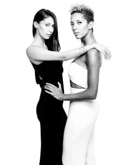 Cushnie et Ochs photographed by Herring & Herring for Eva Fehren Jewelry