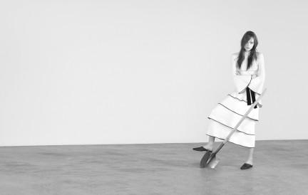 Mina Cvetkovic photographed by Herring & Herring for Dazed & Confuzed Korea
