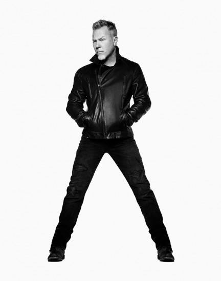 James Hetfield, Metallica photographed by Herring & Herring (Dimitri Scheblanov and Jesper Carlsen)