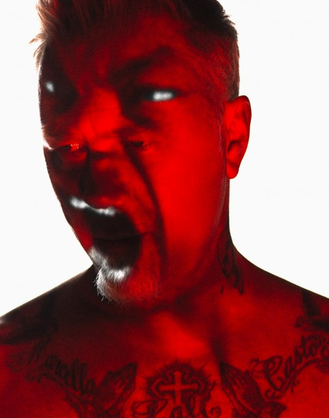 James Hetfield, Metallica photographed by Herring & Herring (Dimitri Scheblanov and Jesper Carlsen)