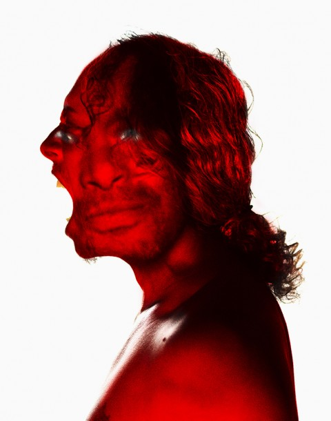 Kirk Hammett, Metallica photographed by Herring & Herring (Dimitri Scheblanov and Jesper Carlsen)