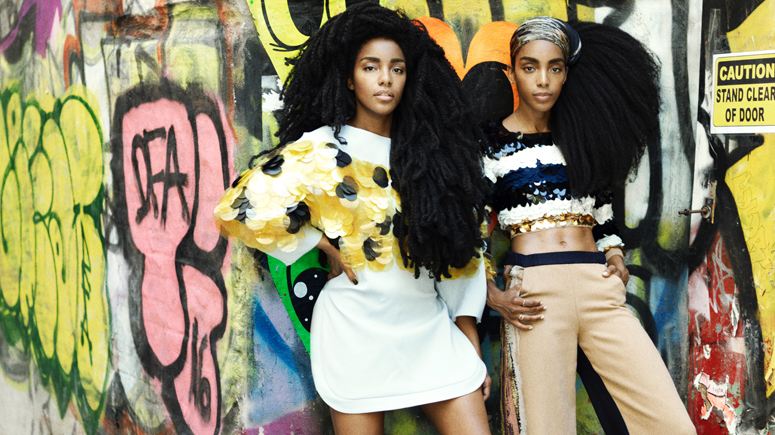 Fashion Editorial by Herring & Herring (Dimitri Scheblanov and Jesper Carlsen) for Glamour Magazine featuring artist Andrea Mary Marshall, musician/model Matt Hitt, equestrian/model Sojourner Morrell, musician/model Justin Gossman, fashion influencer Danielle Bernstein, and sisters writers/fashion influencers TK Wonder and Cipriana Quann .