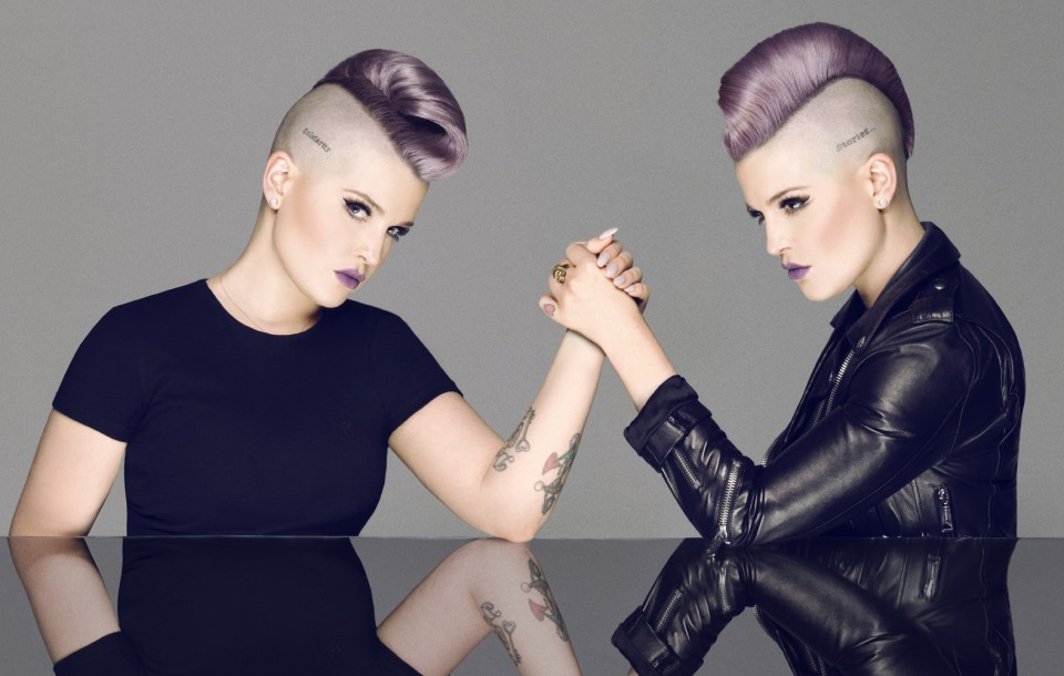 There Is No F*cking Secret: Letters From a Badass Bitch: Kelly Osbourne, shot by Herring & Herring (Dimitri Scheblanov and Jesper Carlsen)