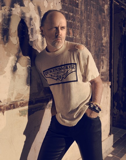 Lars Ulrich of Metallica photographed by Herring & Herring (Dimitri Scheblanov and Jesper Carlsen)