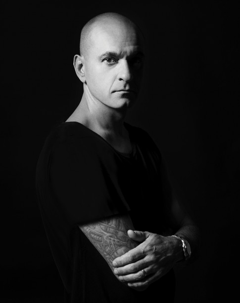 House & techno music producer, DJ Victor Calderone shot by photography duo Herring & Herring (Dimitri Scheblanov and Jesper Carlsen)