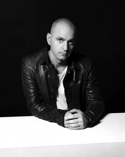 House & techno music producer, DJ Victor Calderone shot by photography duo Herring & Herring (Dimitri Scheblanov and Jesper Carlsen)