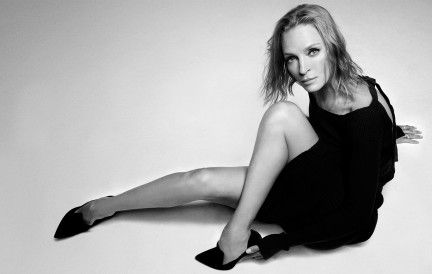 Actress Uma Thurman shot by photography duo Herring & Herring, Dimitri Scheblanov, Jesper Carlsen