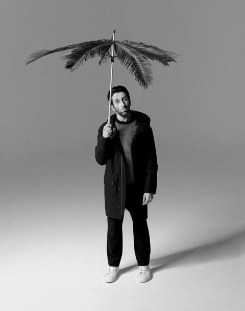 Actor Simon Helberg shot by photography duo Herring & Herring, Dimitri Scheblanov, Jesper Carlsen