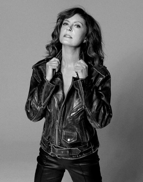 Actress Susan Sarandon shot by photography duo Herring & Herring, Dimitri Scheblanov, Jesper Carlsen