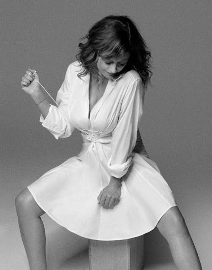 Actress Susan Sarandon shot by photography duo Herring & Herring, Dimitri Scheblanov, Jesper Carlsen