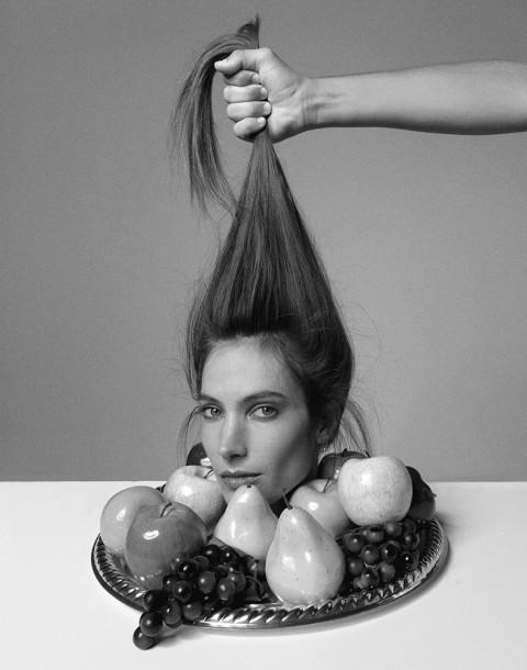 Model Jessica Miller shot by photography duo Herring & Herring