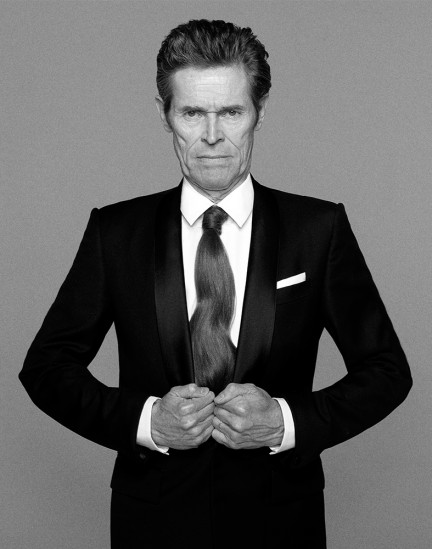 Actor Willem Dafoe shot by photography duo Herring & Herring, Dimitri Scheblanov, Jesper Carlsen