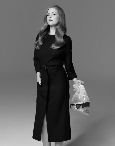 Actress Isla Fisher shot by photography duo Herring & Herring