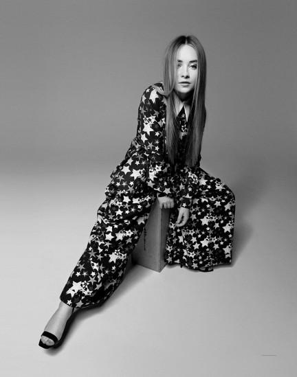 Actress and Musician Sabrina Carpenter shot by photography duo Herring & Herring, Dimitri Scheblanov, Jesper Carlsen