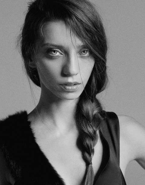 Actress Angela Sarafyan shot by photography duo Herring & Herring