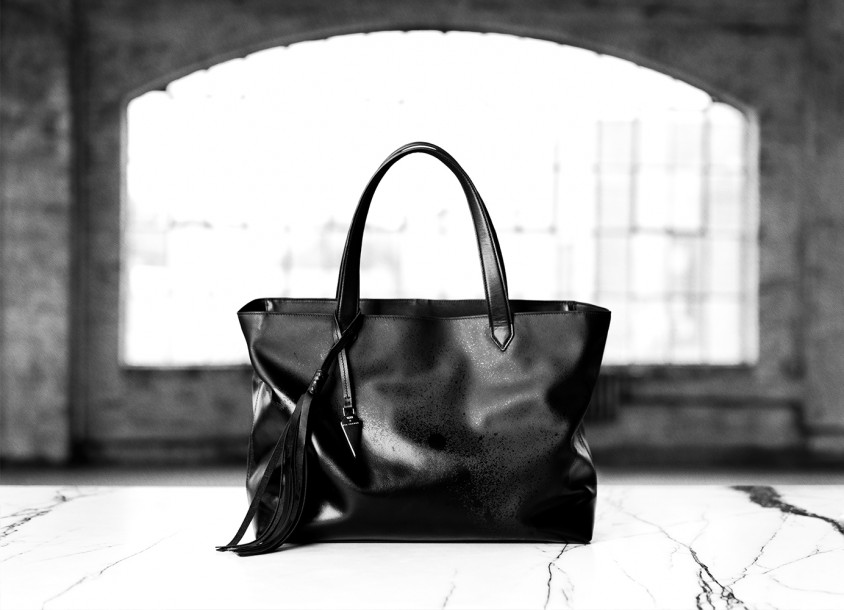 Tumi x Eva Fehren bag collaboration photographed by Herring & Herring