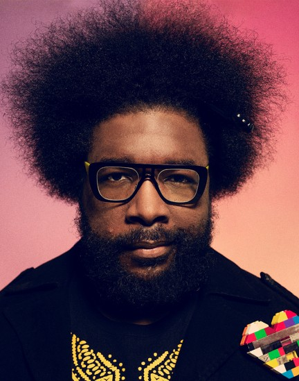 Questlove photographed by Herring & Herring
