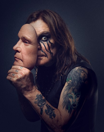 Ozzy Osbourne photographed by Herring & Herring for No More Tours 2