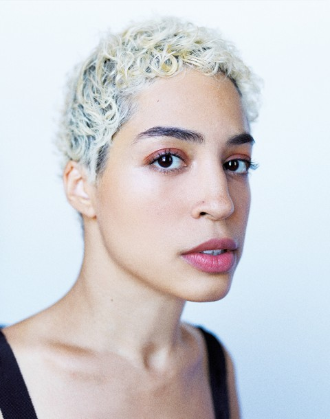 Model Jillian Mercado shot by photography duo Herring & Herring, Dimitri Scheblanov, Jesper Carlsen