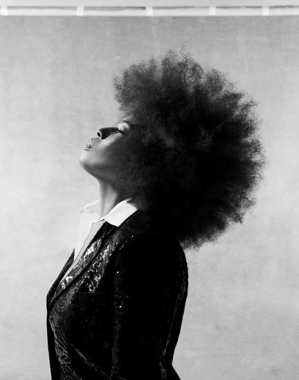 Musician Macy Gray shot by photography duo Herring & Herring, Dimitri Scheblanov, Jesper Carlsen