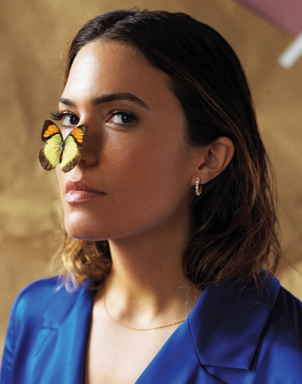 Actress Mandy Moore shot by photography duo Herring & Herring, Dimitri Scheblanov, Jesper Carlsen