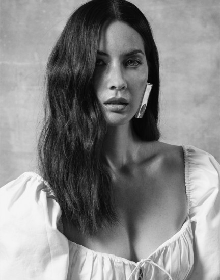 Actress Olivia Munn shot by photography duo Herring & Herring, Dimitri Scheblanov, Jesper Carlsen