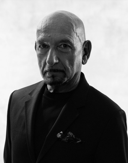 Actor Sir Ben Kingsley shot by photography duo Herring & Herring, Dimitri Scheblanov, Jesper Carlsen