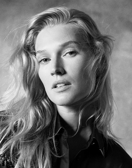 Model Toni Garrn shot by photography duo Herring & Herring, Dimitri Scheblanov, Jesper Carlsen